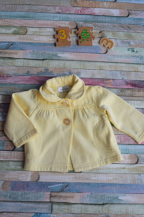 Yellow Cardigan 3-6 Months Old
