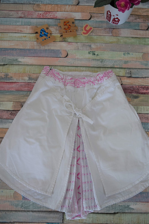 White and Pink Gorgeous Skirt 4-5 Years Old
