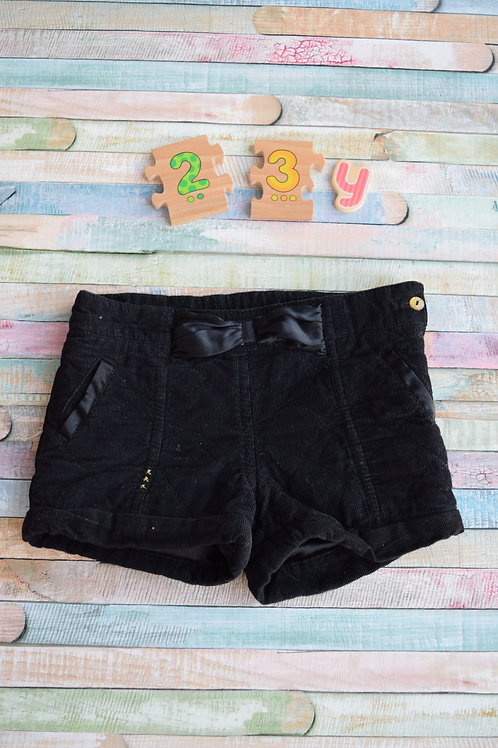 Black Winer Shorts 2-3 Years Old