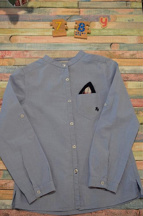 Long Sleeve Blue Shirt 7-8 Years Old