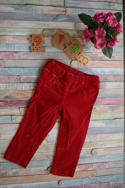 All Red Trousers