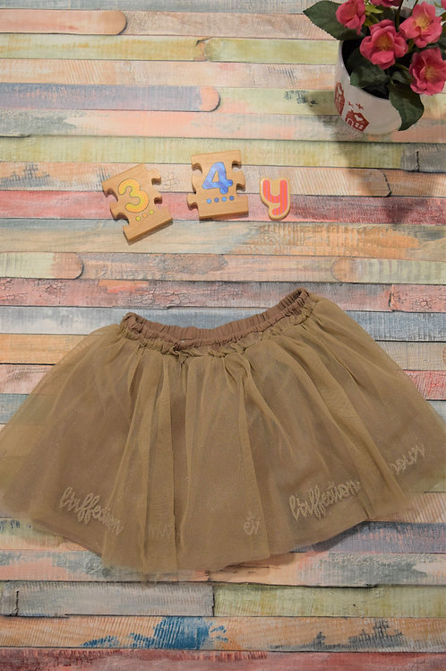 Cream Tutu Skirt 3-4 Years Old