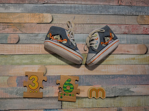 Tiger Baby Shoes 3-6 Months Old