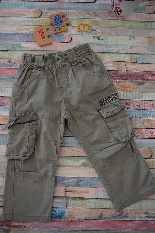 Summer Cotton Trousers 12-18 Months