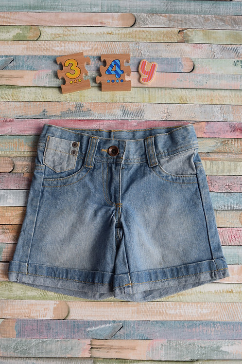 Jeans Shorts 3-4 Years Old