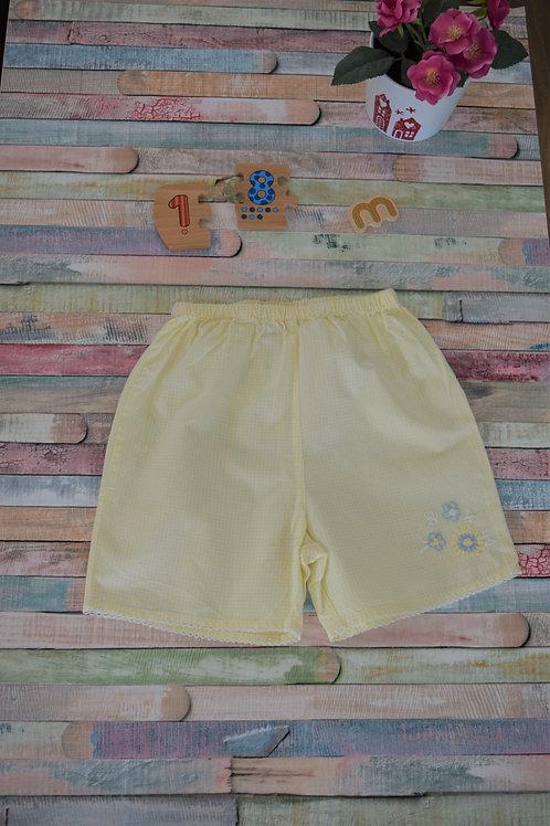 Pink Cotton Shorts 12-18 m