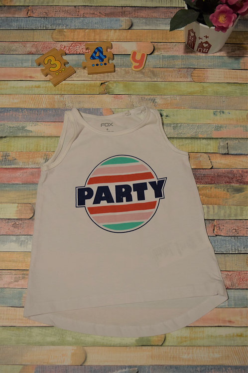 Party Tshirt 3-4 Years Old