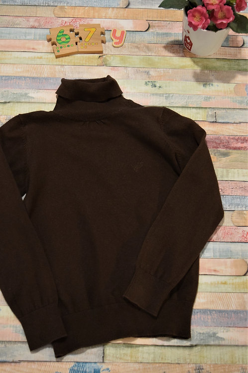 Brown Turtleneck Sweater 6-7 Years Old