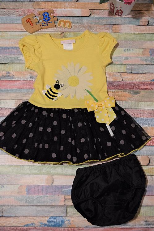 Bonnie Baby Bee Dress  Set 12-18 Months Old