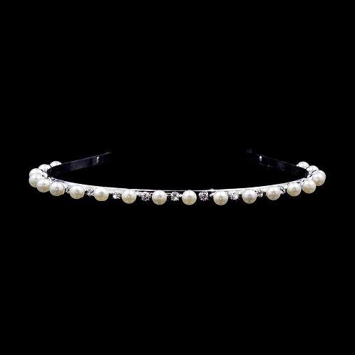 Alternating Pearls and Rhinestones Headband