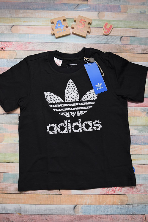 Adidas Black Tshirt 4-5 Years Old
