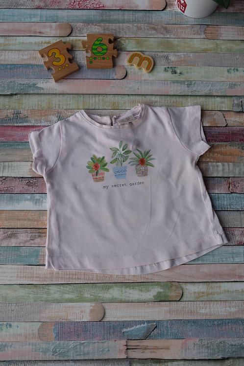 T-shirt My Secret Garden 3-6 Months Old