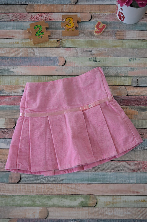 Pink Elegant Skirt with Ribbon 2-3 Years Old