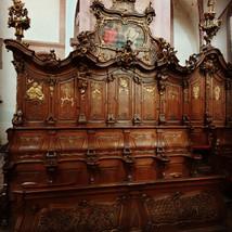 Choir stalls in Bronnbach Monastery