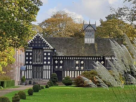 Rufford Old Hall near Ormskirk, UK