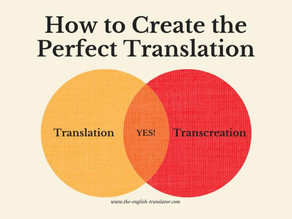 A great tip for a perfect translation