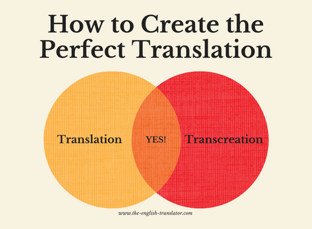 How to create the perfect translation