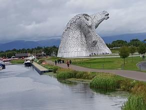 Meet the Kelpies of Falkirk, Scotland