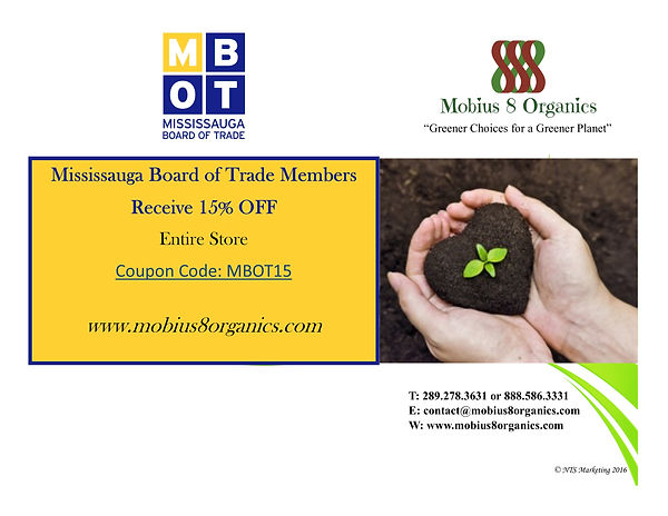 MBOT Coupon for Mississauga Board of Trade Members