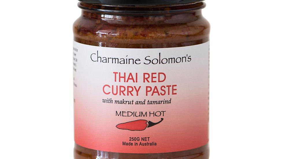 Charmaine Solomon's Thai Red Curry Paste