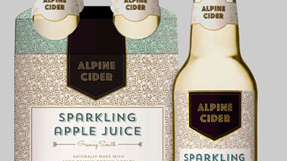 Alpine Cider - Granny Smith Sparkling Apple Cider