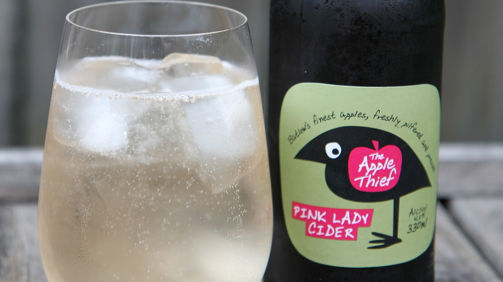 Apple Thief Non-Alcoholic Cider 330ml bottle