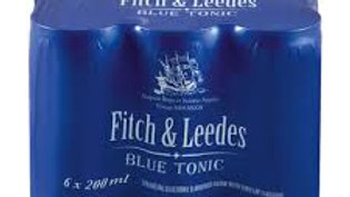 Fitch & Leedes Blue Tonic 6pack 200mls can