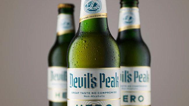 Devil's Peak Hero 0% Beer 300ml bottle