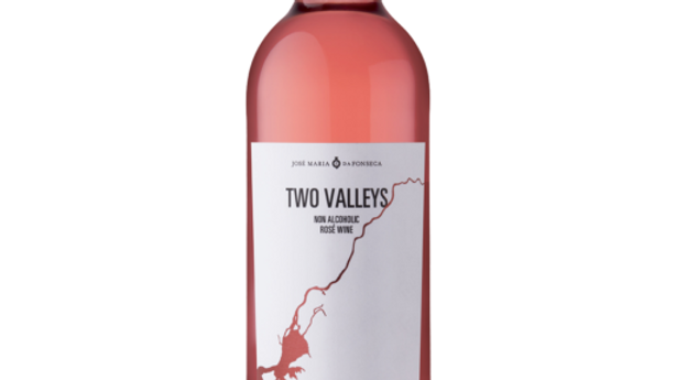 Two Valleys Rose Non Alcoholic wine