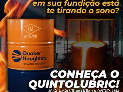 Conheça o Quintolubric - Fluido Hidráulico Resistente ao Fogo