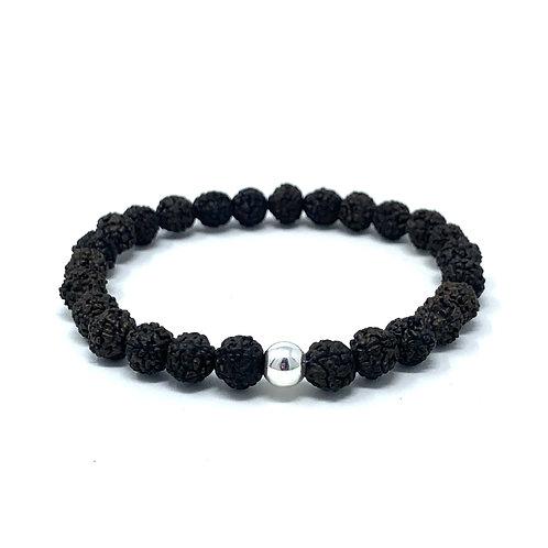 """Bracelet """"Rudraksha noir"""""""