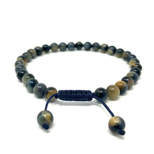 """Bracelet """"Évolution"""" bleu"""