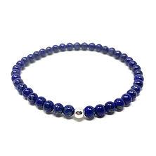 Bracelet lapis lazuli - Les Ateliers de Brahma