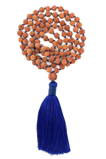 Mala, Malabeads, Rudraksha, Necklace, Collier, Meditation, Les Ateliers de Brahma