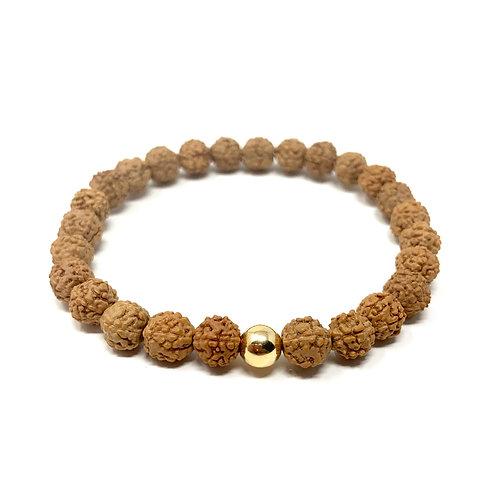 """Bracelet """"Rudraksha"""" or"""
