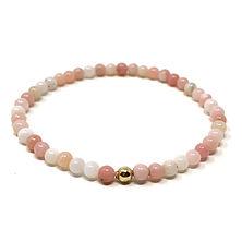 Bracelet opale rose - Les Ateliers de Brahma