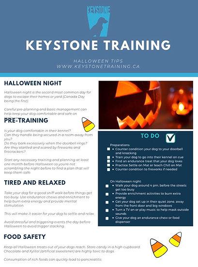Keystone Halloween Tips