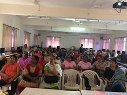 Breast Cancer awareness St.Josephs High School Pashan
