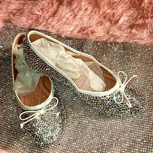 Cinderella Ballet Flats size 8 1/2 +