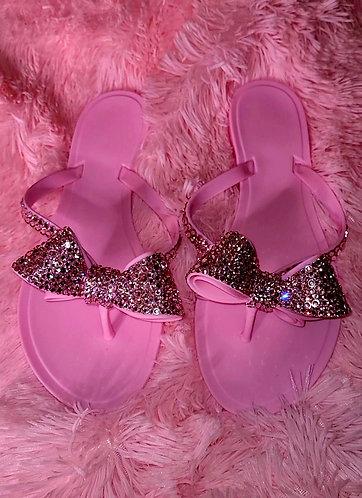 "Diamond Flip Flops in ""Princess"""