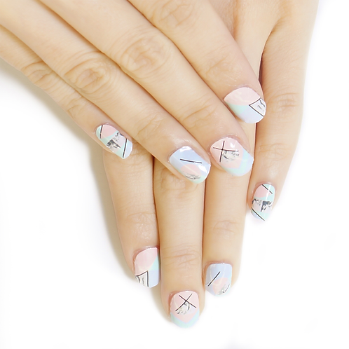 Pastel Strands / 粉色調色盤
