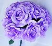 Lavender silk flower