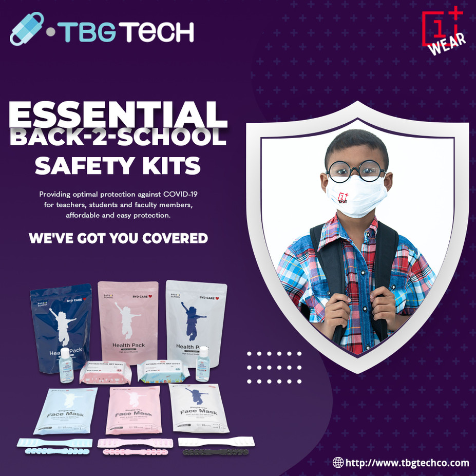 Essential Back2School Safety KIT