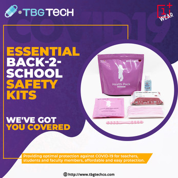 Essential Back2School Safety KIT