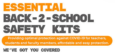 TBGs Essential Back2School Safety KITs