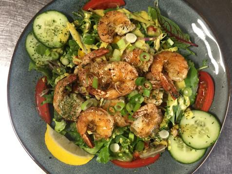 gerecht salade scampi.JPG