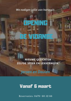 affiche opening