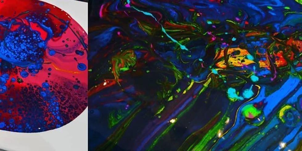 Acrylic Pour Class 6:00 pm