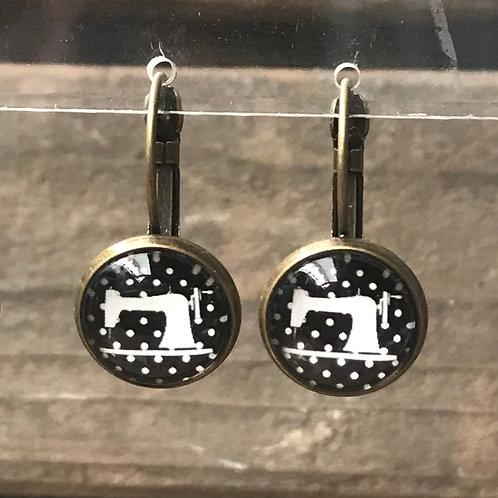 Ohrringe - Nähmaschine II