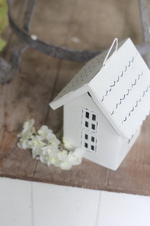 Häuschen für Teelicht zum Stellen oder Hängen